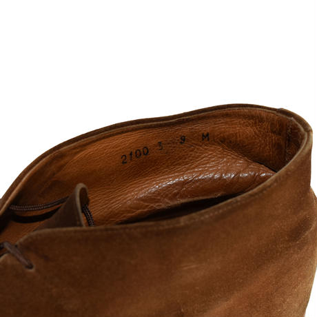 USED SUEDE CHUKA BOOTS