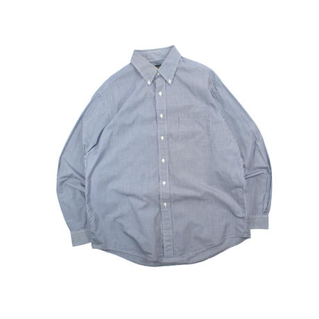 "USED ""BROOKS BROTHERS"" GINGHAM CHECK B.D. SHIRT"
