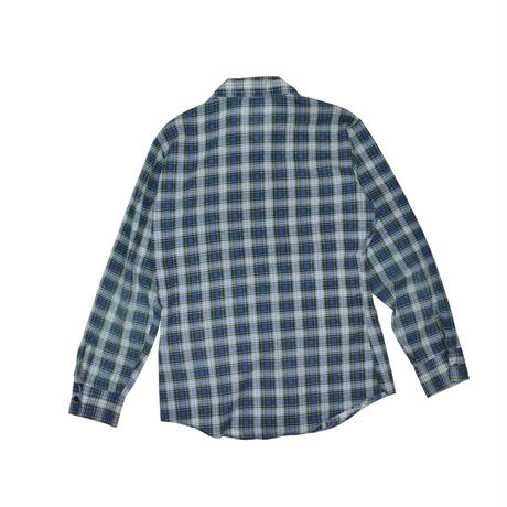 "USED ""70'S PUT-ON SHOP SEARS"" PLAID PRINT SHIRT"