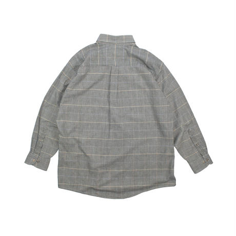 "USED ""G.H.BASS"" HEAVY COTTON PLAID SHIRTS"