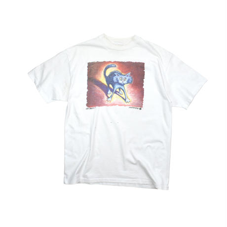 "USED ""95'S JOHN SUMNER"" KITTY ART T-SHIRTS"