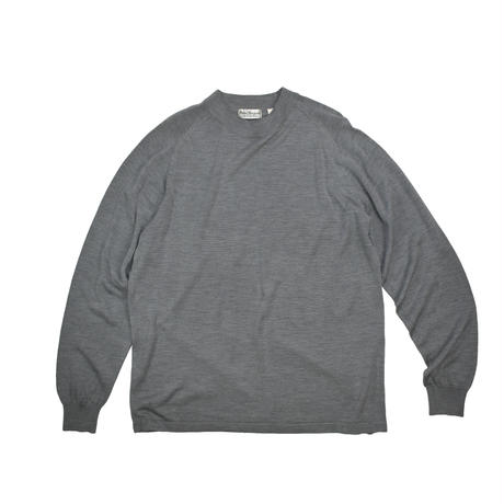 "USED ""NORM THOMPSON""MOCK NECK SILK KNIT"
