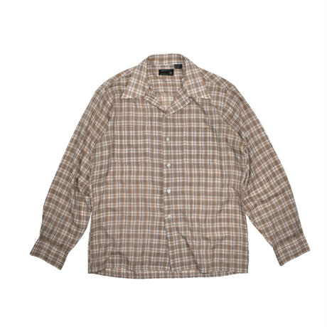 "USED ""70-80'S JCPENNY"" FLANNEL SHIRT"