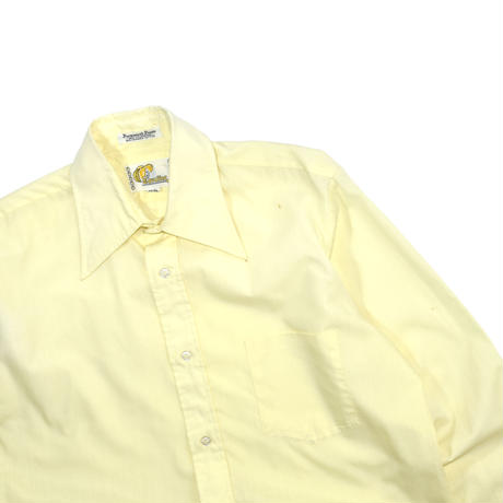 "USED ""70'S CAVALIER"" SOLID COLOR SHIRT"