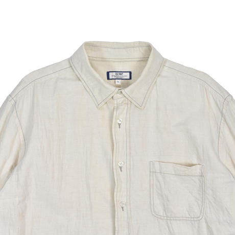 "USED ""OLD NAVY"" COTTON LINEN SHIRTS"