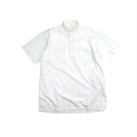 USED BAND COLLAR PULLOVER S/S SHIRT