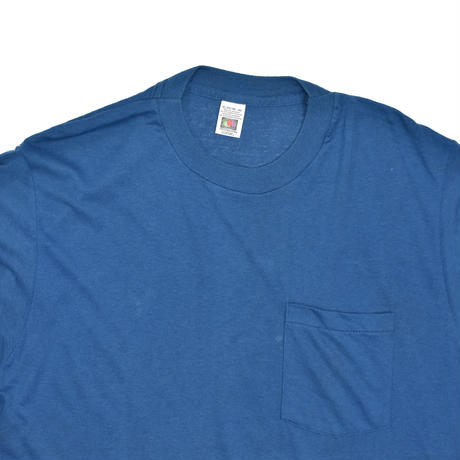 """USED """"FRUIT OF THE ROOM"""" FADE POCKET T-shirt"""