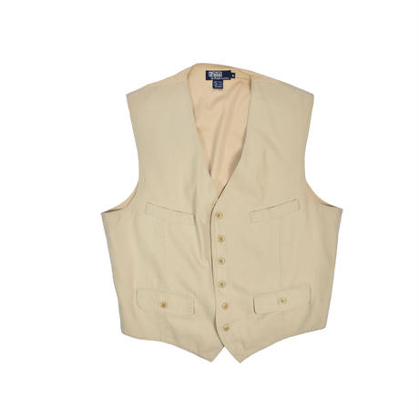 "USED ""POLO RALPH LAUREN"" COTTON VEST"