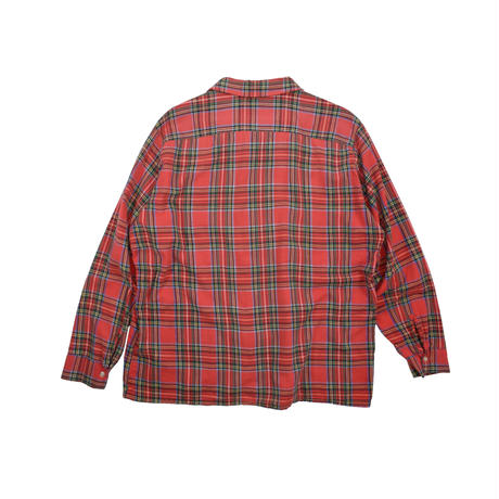 USED 70'S O/C FLANNEL SHIRTS