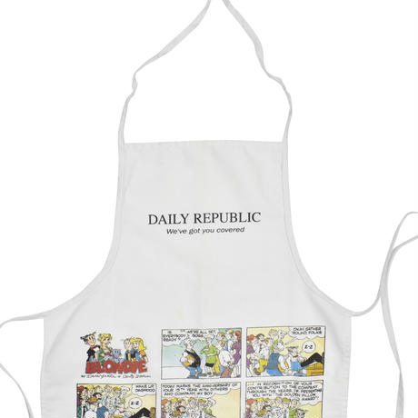 "USED ""DAILY REPUBLIC"" APRON"