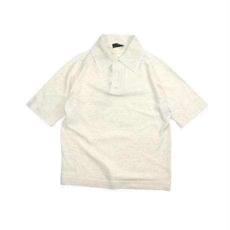 """USED """"70'S McGREGOR"""" SUMMER KNIT POLO S/S"""
