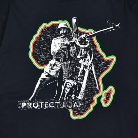 "USED ""PROTECT JAH"" L/S T-SHIRTS"