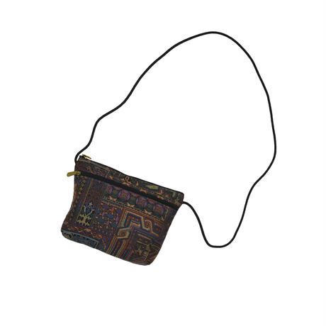 """USED """"DANNY K."""" JACQUARD POUCH"""