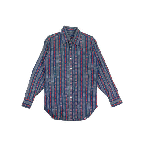 "USED ""70'S POLO RALPH LAUREN"" PATTERN SHIRT"