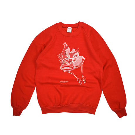 """USED """"JARVIK-7 ARTIFICIAL HEART"""" CREW NECK SWEAT"""