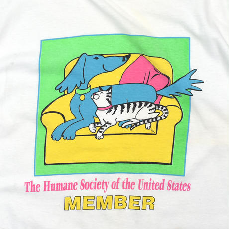 "USED ""THE HUMANE SOCIETY"" T-SHIRT"