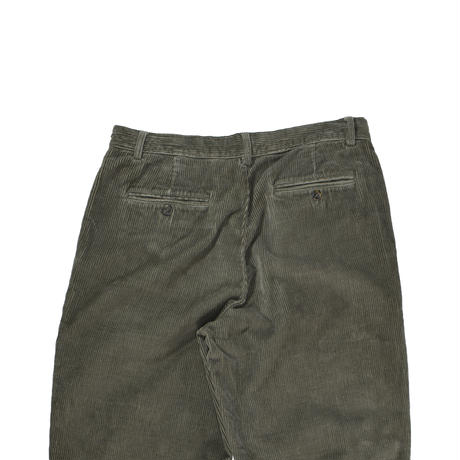 """USED """"ROUNDTREE&YORKE"""" 2-TUCK COUDUROY TROUSERS"""