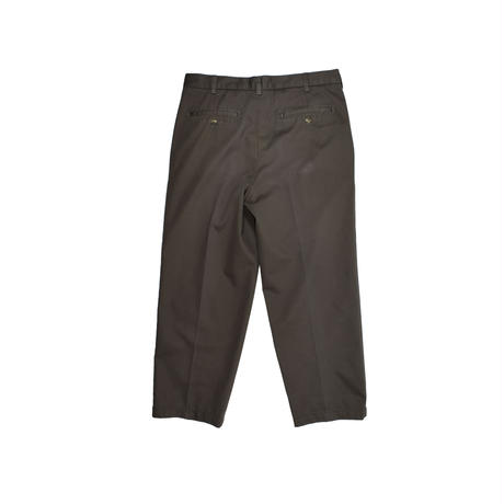 "USED ""EVERGREEN"" 2-TUCK COTTON TROUSERS"