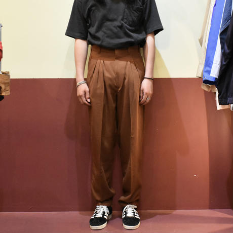 """DEADSTOCK """"LAWRENCE LIMITED""""  POLY RAYON SLACKS"""