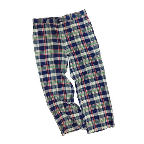"USED ""SATURDAY'S GENTLEMEN'S BRITCHES"" PLAID PANTS"