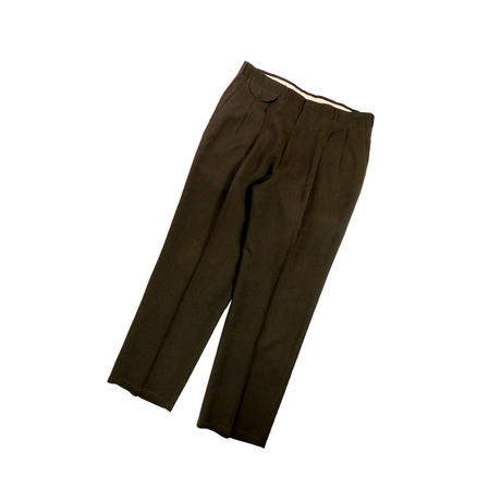 "USED ""HAGGER"" 2TUCK SUMMER WOOL SLACKS"