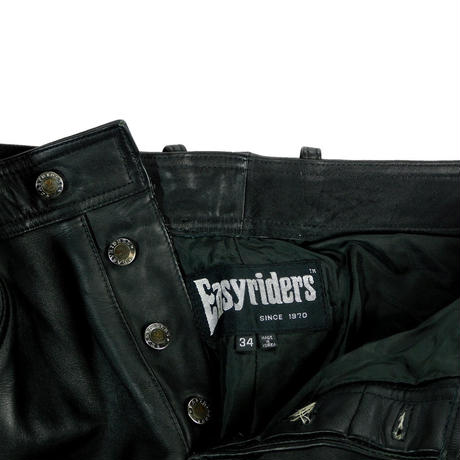"""USED """"EASY RIDERS"""" LEATHER PANTS"""