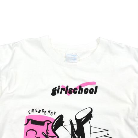 "USED ""GIRLSSCHOOL"" T-SHIRT"