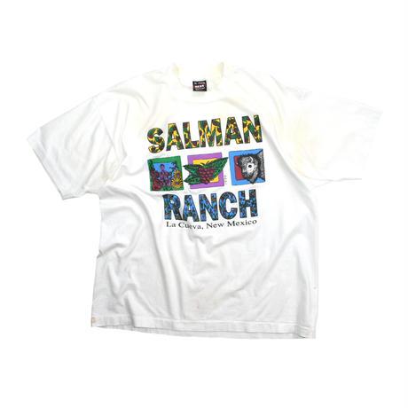 "USED ""94'S SALMAN RANCH"" T-SHIRT"
