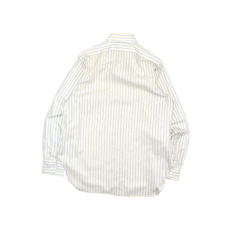"USED ""70-80'S POLO RALPH LAUREN"" STRIPE COTTON SHIRT"