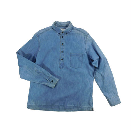 "USED ""TAYLOR STITCH"" PULL OVER DENIM L/S SHIRTS"