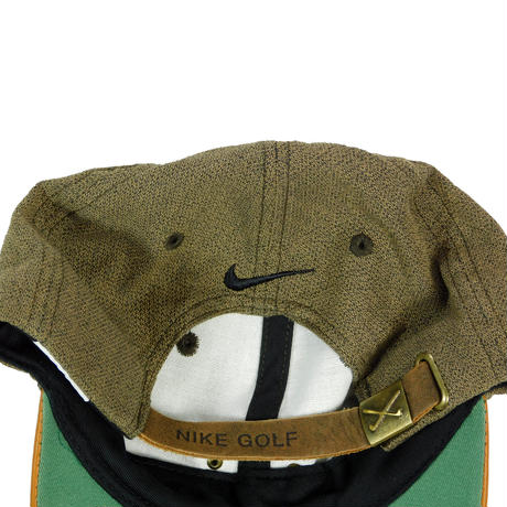"USED ""NIKE GOLF"" LEATHER BILL CAP"