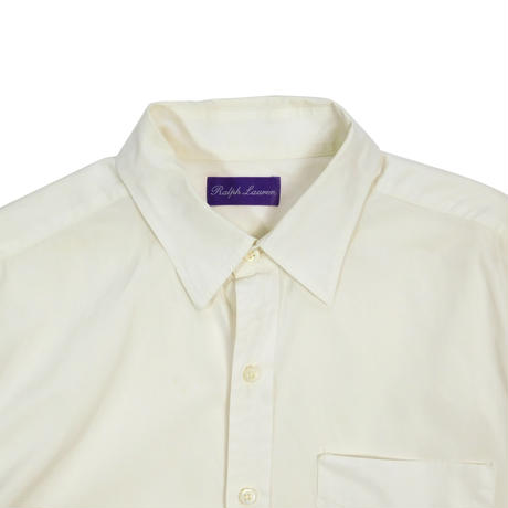 "USED ""RALPH LAUREN PURPLE LABEL"" EMBROIDERY LOGO SHIRTS"