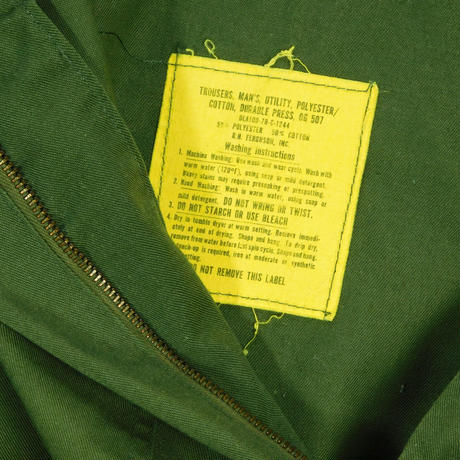 """USED """"70'S US.ARMY"""" BAKER PAMTS"""