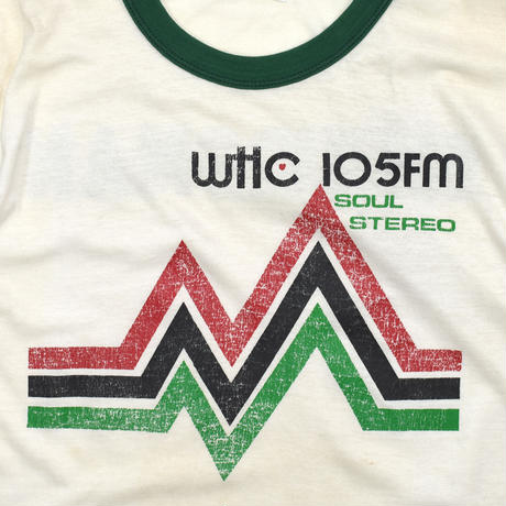 """USED """"SOUL STEREO"""" RINGER T-SHIRTS"""