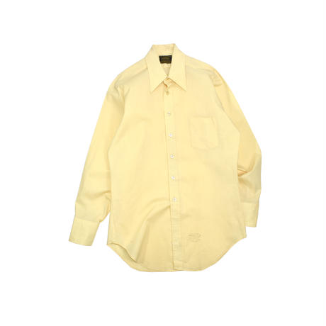 """USED """"70'S SEARS"""" SOLID COLOR SHIRT"""