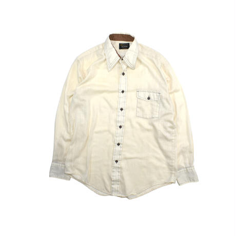 """USED """"70'S JCPENNEY"""" SILKY SHIRT"""