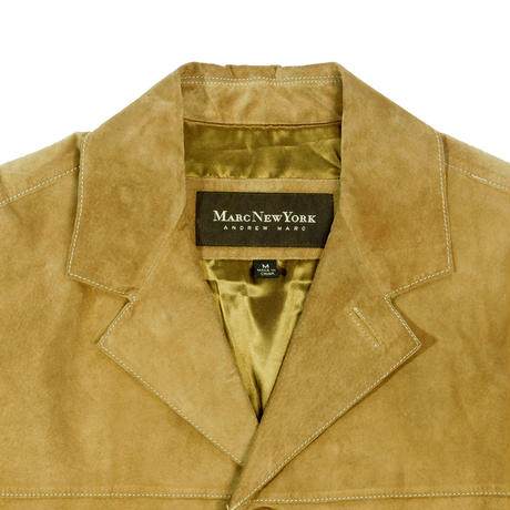 "USED ""MARC NEW YORK"" SUEDE HALF COAT"