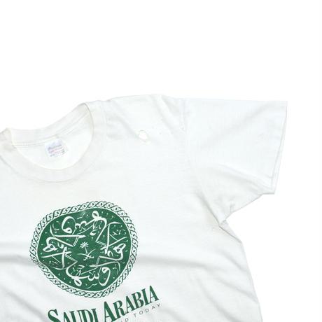 """USED """"90'S SAUDI ARABIA"""" T-SHIRTS"""