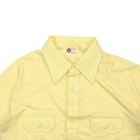 """USED """"70'S KINGS ROAD"""" COLOR POLO S/S"""
