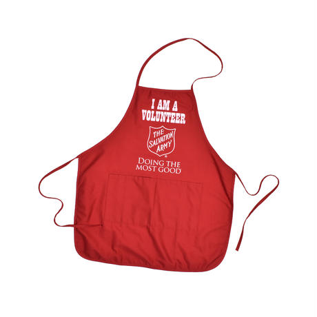 """USED """"THE SALVATION ARMY"""" APRON"""