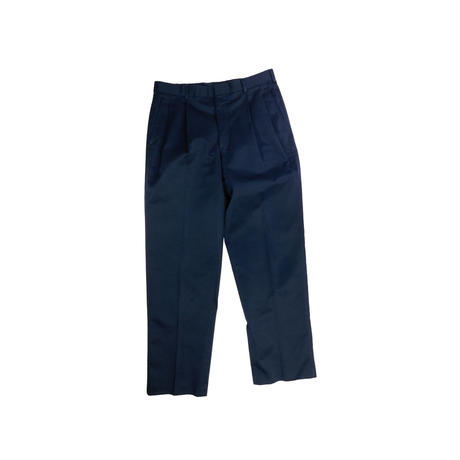 "USED ""80'S LAND'S END"" 2TUCK TROUSERS"