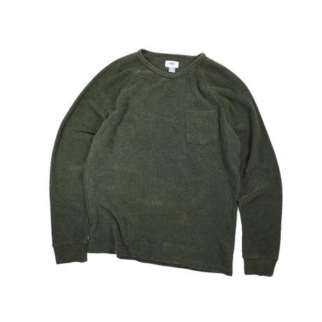 """USED """"OLD NAVY"""" PILE L/S TEE"""