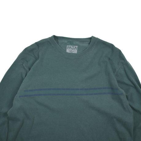 """PAJA STUDIO """"Block border"""" L/S T-shirt"""