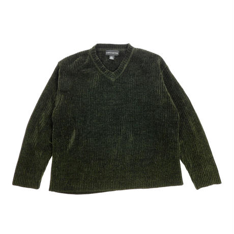 "USED ""CROFT & BARROW"" VELOUR V-NECK KNIT"