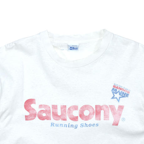 """USED """"90'S SAUCONY"""" T-SHIRT"""