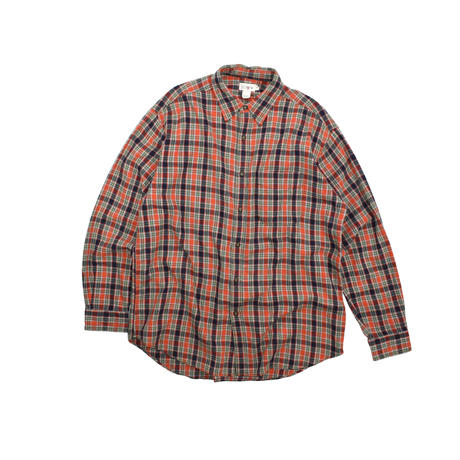 """USED """"J.CREW"""" FLANNEL CHECK SHIRTS"""