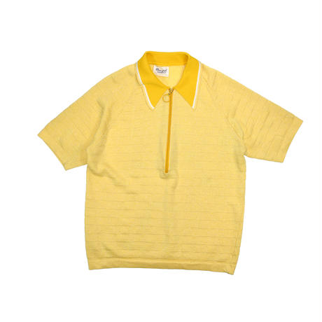 "USED ""70'S DONEGAL COLESETA"" KNIT POLO SHIRT"