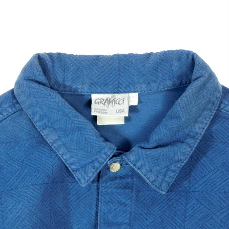 "USED ""GRAMICCI"" FLANNEL PATTERN SHIRTS"