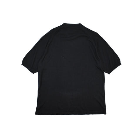 "USED ""ANTHOLOGY"" MOCK NECK SILK KNIT S/S"