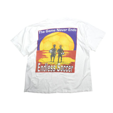 """USED """"95'S ENDLESS SOCCER"""" T-SHIRT"""